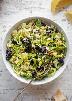sweet and savory brussels sprouts slaw Main Dishes, Side Dishes, Clean Eating, Healthy Eating, Rabbit Food, Bariatric Recipes, Healthy Salad Recipes, How Sweet Eats, Lunches And Dinners