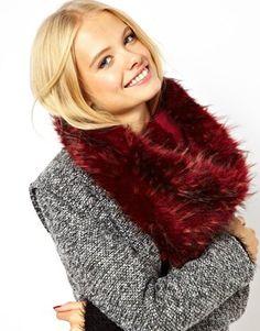 Image 1 of ASOS Faux Fur Snood