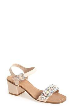 Dune London 'Mahala' Block Heel Sandal (Women) available at Block Heel Shoes, Dune, Wedding Shoes, Shoe Boots, Nordstrom, Crystals, Shopping, London, Women