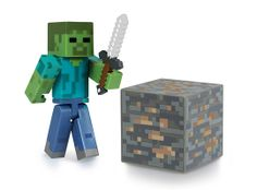 J!NX : Minecraft Zombie Action Figure