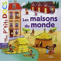 Amazon.fr - Les maisons du monde - Stéphanie Ledu, Delphine Vaufrey - Livres