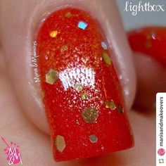 "So sparkle! Much shine! #IncidentalTwin IncidentalTwin.etsy.com ======> @manisandmakeovers:Incidental Twin's ""Bowie"" by @pirategirljack over a red base   Go to link in bio for more info.  #nailart #naildesign #nailpolish #nails #manicure #manicures#mani #art #design #polishlove #nail#naillove#nailswag #naillovers #nagellack #naildesigns#nailartdesign#nailartdesigns #thenailartstory #nailpromote #nailporn  #nailaddicts #indiesrock #indieswatch #indiepolishaddict #indie #indiepolishnailart"