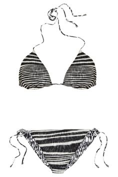 Missoni | Reversible crochet-knit triangle bikini | NET-A-PORTER.COM