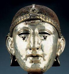 masques antiques | Philippopolis Roman face mask | balkancelts