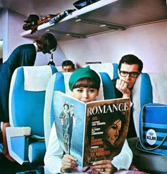 Royal Dutch KLM, Romance (Dutch) April 1965 #KLM