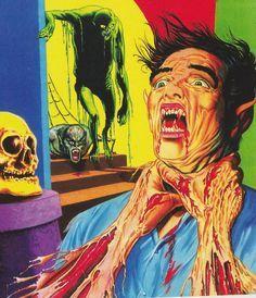 Kuvahaun tulos haulle pulp horror art