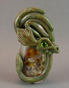 Handgefertigte GlasperlenSea Dragon Bead  Hydd  von marylockwood, $129.00