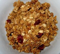 Honey Cinnamon Granola. Sounds like a homemade alternative to the Au Bon Pain Granola