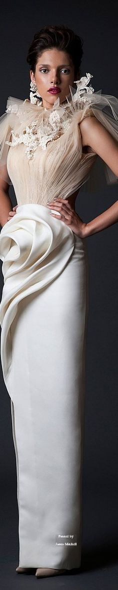 Krikor Jabotian Couture Fall-winter 2014-2015