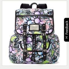Juicy Couture Multicolor School/Campus Backpack Juicy Couture Backpack Juicy Couture Bags Backpacks