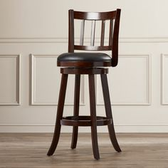 "Found it at Wayfair - Haines 29"" Swivel Bar Stool with Cushion"