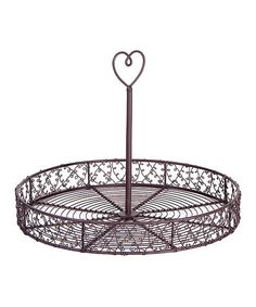 Look at this #zulilyfind! French Wire Service Tray by Home Essentials and Beyond #zulilyfinds