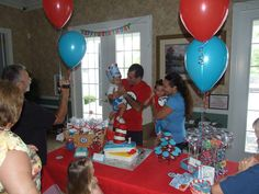 Dr Seuss Birthday Party Ideas | Photo 1 of 31 | Catch My Party