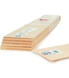 Basswood 24'' Sheets-10PK/1/4''x4''Basswood 24'' Sheets-10PK/1/4''x4'' for drawer dividers at JOANN'S!!
