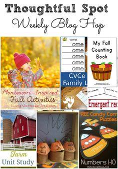 Fall activities at Thoughtful Spot Weekly Blog Hop