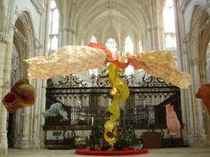 Peter Gentenaar, Paper Sculpture, Abbey of Saint Riquier, Somme, France