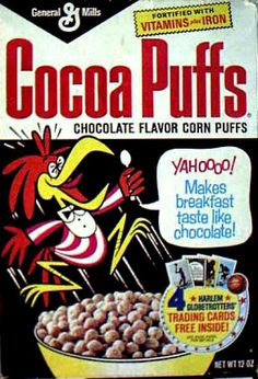 Retro Cereal..coo coo for cocoa puffs!