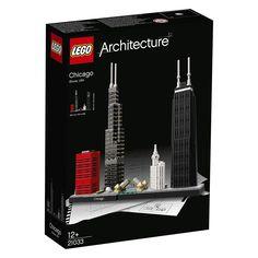 LEGO Architecture Chicago 444pieza(s) - juegos de construcción (Multicolor): Amazon.es: Juguetes y juegos
