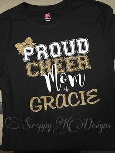 Cheer Mom Shirt Prou