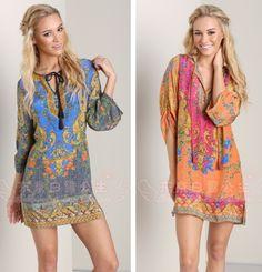 Ladies Celeb Baroque Floral Print Boho Maxi Hippie Sun Dress Beach 8-12  @Li CS