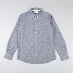 Norse Projects Anton Chambray Shirt - Navy