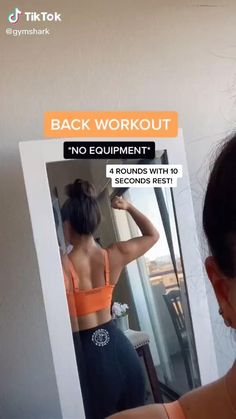 Fitness Workouts, Gym Workout Videos, Gym Workout For Beginners, Fitness Workout For Women, Fitness Goals, At Home Workouts, Fitness Motivation, Back Workout Women, Curvy Girl Workout