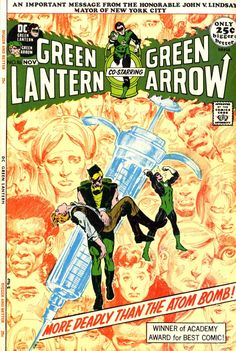 Green Lantern #86 Vol 2 (1971).  Cover art:  The fanciful Neal Adams