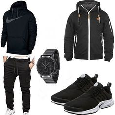 Many outfits every season for trend-conscious men. The outfit and many Swag Outfits, Mode Outfits, Casual Outfits, Tomboy Fashion, Mens Fashion, Stylish Men, Men Casual, Mode Man, Style Masculin