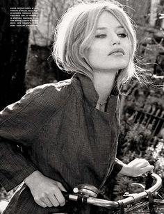 Georgia May Jagger for Vogue Italia April 2015 | The Fashionography