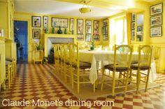 Claude Monet's home.