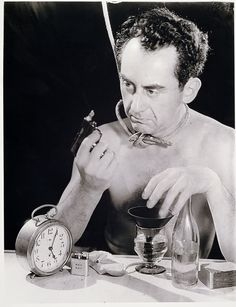 Man Ray (selfportrait)
