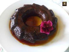Comparte Recetas - Flan de chocolate express en microondas