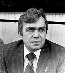 Ernst Happel – Wikipedia Hamburger Sv, Special Person, Rotterdam, Cowboys, Trainers, Stars, Football, Remember This, Legends