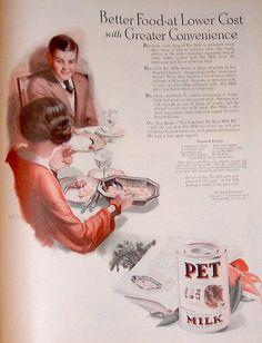 1924-Pet Milk Vintage Ad