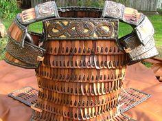 Viking leather lamellar armour. http://www.walhalla.com.pl/sklep/index.php?cPath=120&osCsid=6ccd882f8c19