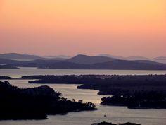 #Sibenik Bay and #islands #Croatia
