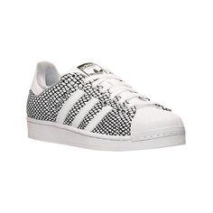 meet 71627 55a55 Adidas Men s Superstar Snake Print Casual Shoes, White (€44) ❤ liked on.  Zapatillas Adidas Superstar · Piel De Serpiente ...
