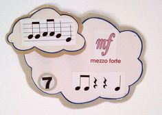"""Musical Clouds on the Ceiling- Use it to play """"I Spy""""...students must name the number of the cloud where the answer is!"""