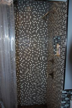 Shower.  I want my house to have such a modern look!    www.mossbuildinganddesign.com
