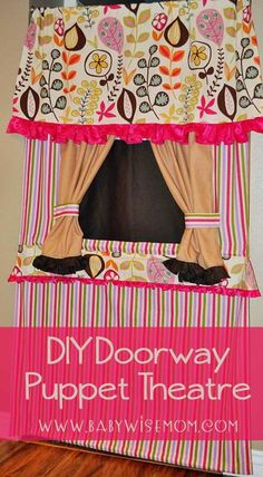 DIY Doorway Puppet T