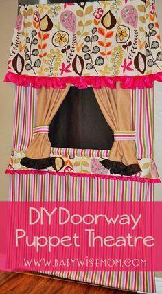 DIY Doorway Puppet T