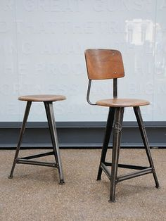 Like the stool with the back support