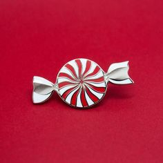 Peppermint Enamel Pin – Felt Good Co.