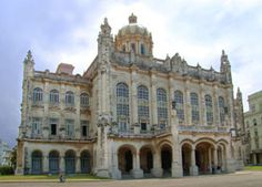 Museum of the Revolution Havana - Located at the former Presidential Palace of the Cuban Republic, it was inaugurated in 1920 and constructed by architects Paul Belau (Belgian) and Carlos Moruri (Cuban).