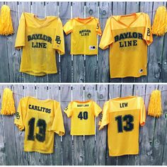 For Baylor families: Announce your pregnancy with a mini Baylor Line jersey with your future Bear's graduation year!
