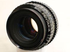 PENTAX A 1 : 1.7 F 50 mm Objektiv SMC SONY CANON NIKON Panasonic Lumix EOS TOP