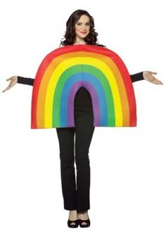 Rasta Imposta 6302 Multi-Colour Rainbow Costume (One Size) St Patrick's Day Costumes, Holiday Costumes, Group Costumes, Adult Halloween, Creative Halloween Costumes, Costume Halloween, Cool Costumes, Adult Costumes, Costumes For Women