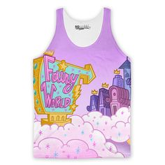 Fairy Odd Parents World Tank Top