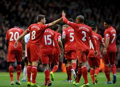 Liverpool FC football players