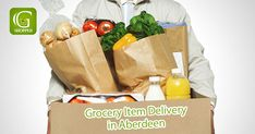 Grocery Shopping App, Grocery Items, Paper Shopping Bag, Aberdeen, Ios, Android, Delivery